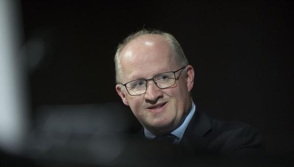 Philip Lane, economista en jefe del Banco Central Europeo. (Bloomberg)
