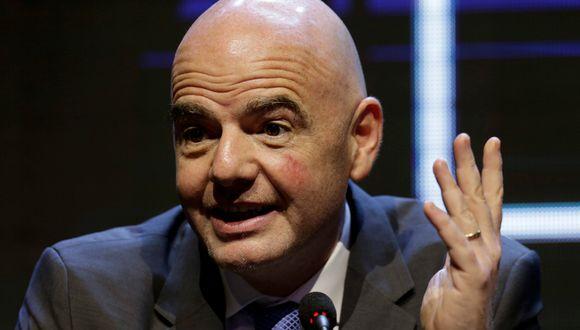 El presidente de la FIFA concibe la posibilidad de que el Mundial regrese a Sudamérica en 2030. (Foto: Reuters)