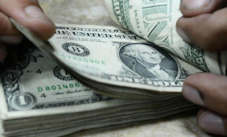 Dólar (Foto: AFP)