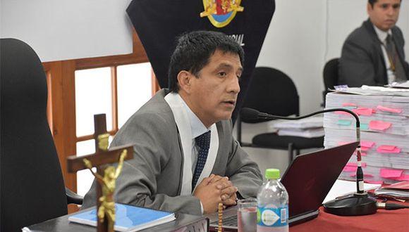 Juez Richard Concepción Carhuancho informó que el jueves tiene programada una audiencia por el caso Barrio King. (Foto: Agencia Andina)
