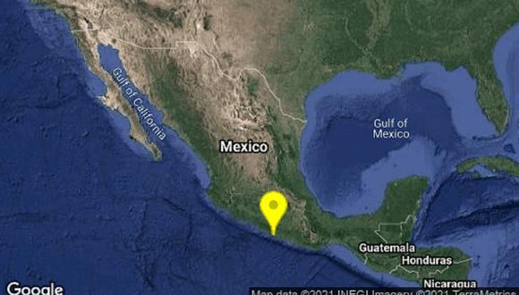 Terremoto se sintió en México. (Foto: Google)