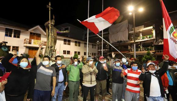 Los manifestantes desbloquearon las vías. (Foto: Melissa Valdivia/GEC).