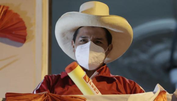 Pedro Castillo, candidato a la presidencia por Perú Libre. (Foto: Renzo Salazar | GEC)