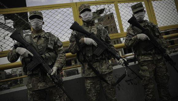 Fuerzas Armadas garantizaron seguridad en comicios por segunda vuelta con 61 mil miembros que pertenecen al Ejército, Marina de Guerra y Fuerza Aérea. (Foto: GEC).