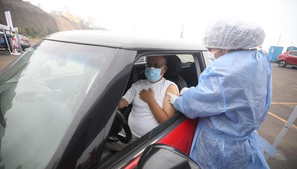 Vacunación a nivel nacional continúa avanzando. (Foto: Britanie Arroyo/@photo.gec)