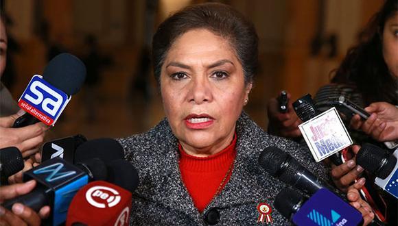 """Salgado indicó que el primer ministro ha admitido que ninguno de los 12 proyectos de reforma política presentados por el Ejecutivo """"están escritos en piedra"""". (Foto: GEC / Video: Canal N)"""
