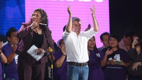El Partido Morado es liderado por el excandidato Julio Guzmán. (Foto: Lino Chipana/ El Comercio)