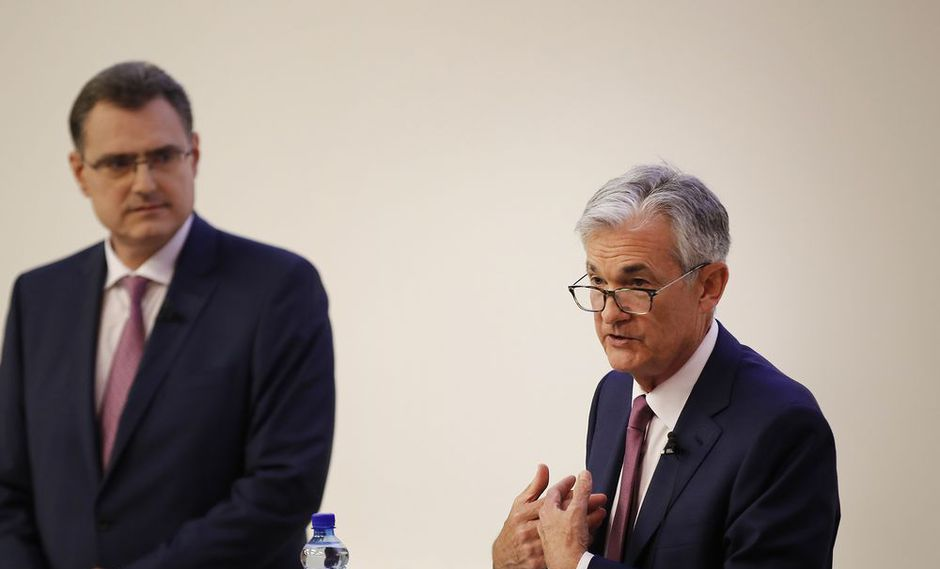 Presidente de la FED, Jerome Powell.