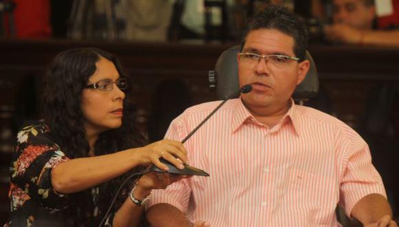 El excongresista Michael Urtecho afronta un pedido fiscal de 24 años de prisión por tres delitos. (Foto: Poder Judicial)