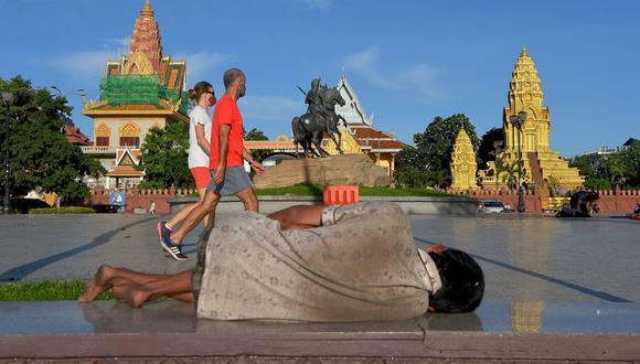 Si bien los ingresos se han desplomado en todo el mundo, los efectos de la pandemia son especialmente graves en las partes emergentes del sudeste asiático. (Bloomberg)