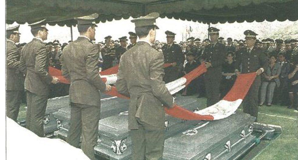 Emotivo homenaje se rindió a cuatro miembros del Ejército Peruano que cayeron en defensa de la soberanía territorial del país.