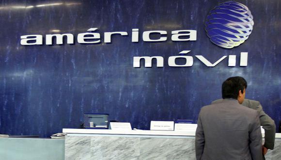 América Móvil es propiedad del magnate Carlos Slim. (Foto: AFP)