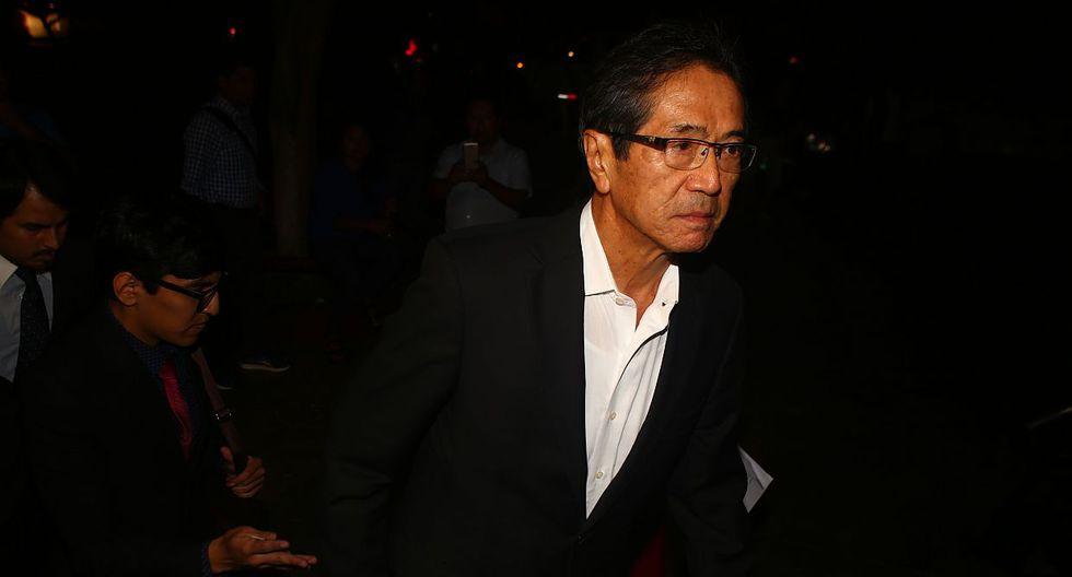 Jaime Yoshiyama Tanaka era secretario general de Fuerza 2011 y candidato a la vicepresidencia. (Foto: USI)