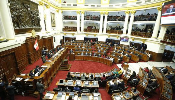Congreso de la República (Foto: Difusión /PCM)