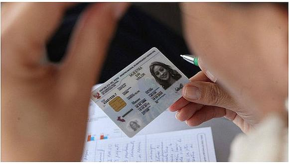 DNI vencido podrá usarse hasta el 31 de agosto de 2021. (Foto: Archivo Andina)
