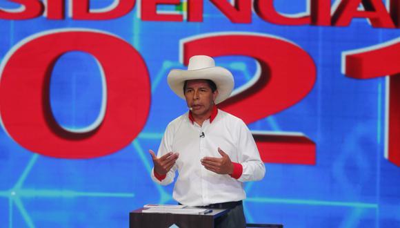 Pedro Castillo, el candidato presidencial de Perú Libre, partido liderado por Vladimir Cerrón. (Foto: GEC).