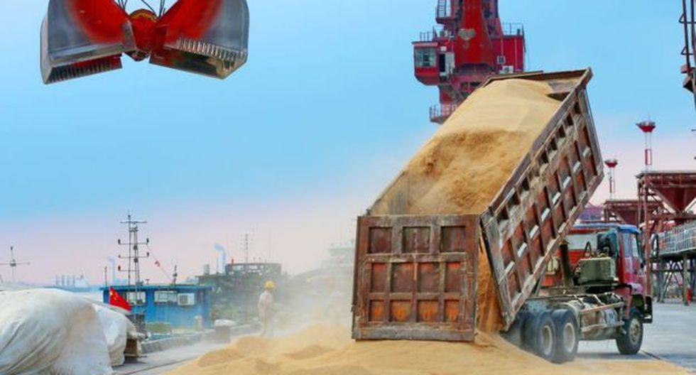 Brasil se convirtió en el principal exportador de soja a China tras la guerra comercial.