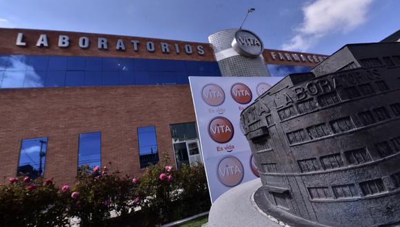 La planta industrial de Laboratorios Vita en El Alto, Bolivia. (Foto: Difusión)
