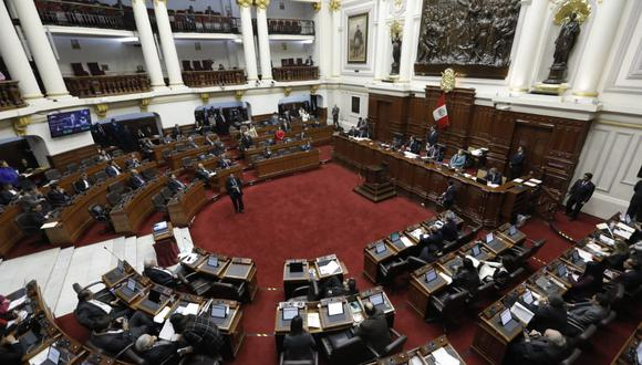 El pleno del Congreso aprobó el proyecto de ley que había quedado en suspensión tras el pleno del 11 de julio. (Foto: GEC)
