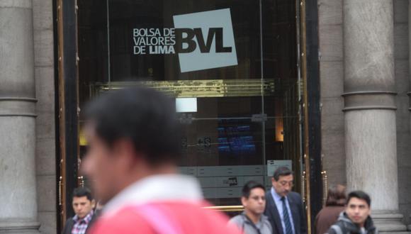 La Bolsa de Valores de Lima (BVL).. (Foto: GEC)