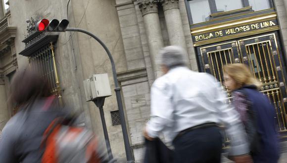 La bolsa limeña anotaba malos resultados en la jornada del jueves. (Foto: GEC)