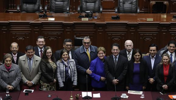 La Comisión Permanente debe sesionar tras el anuncio del cierre del Congreso. (Foto: GEC)