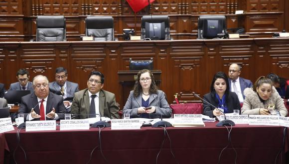 Postura. Vicente Zeballos dijo que el proyecto del Gobierno busca fortalecer los partidos con militancia activa. (Foto: Congreso de la República)