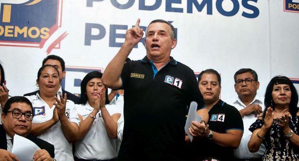 Daniel Urresti fue excluido por el JEE Lima Centro porque no incluyó en su declaración jurada una sentencia que tenía. (Foto: GEC)