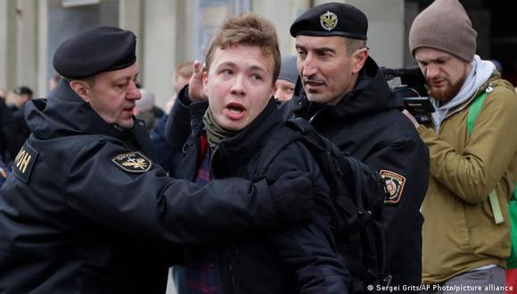 Roman Protosevich, periodusta opositor bieloruso. (Foto: Difusión)