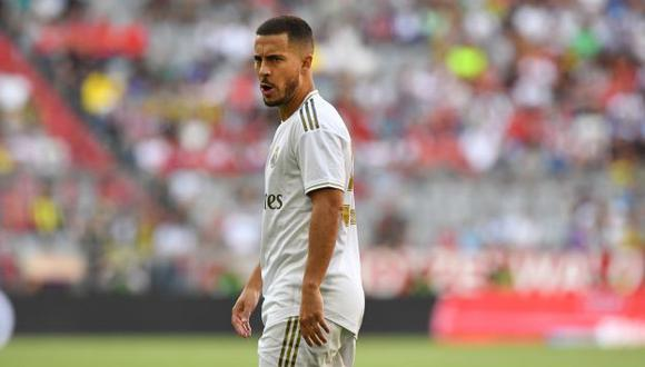 Eden Hazard firmó contrato con Real Madrid hasta mediados del 2024. (Foto: AFP)