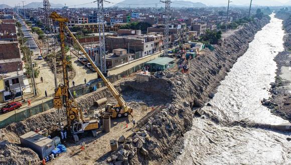 La Municipalidad de Lima ejecuta la construcción del puente Morales Duárez a través de Emape. (Foto: MML)