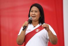 """Keiko Fujimori: """"Lamento mucho que el juez Zúñiga me haya negado el permiso para viajar a Quito"""""""