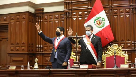 Manuel Merino asumió la presidencia del Perú y en su reemplazo había quedado Luis Valdez, legislador de Alianza para el Progreso (APP). (Foto: Congreso)