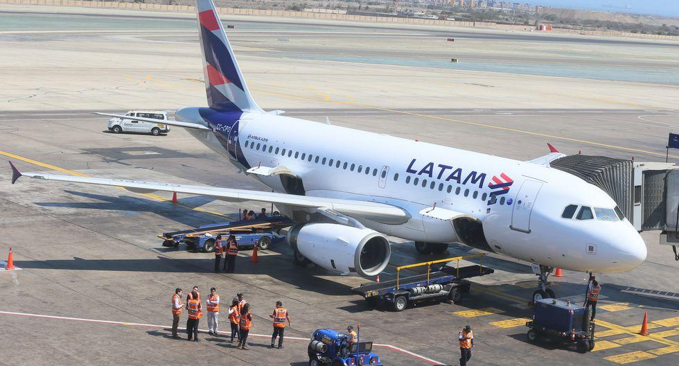Operación de  Latam incluye a sus filiales de Chile, Perú, Colombia, Ecuador y Estados Unidos. (Foto: Miguel Bellido   GEC)
