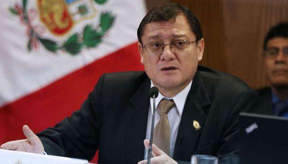 Fiscal coordinador de Crimen Organizado critica que el MEF no les asigne suficiente presupuesto.