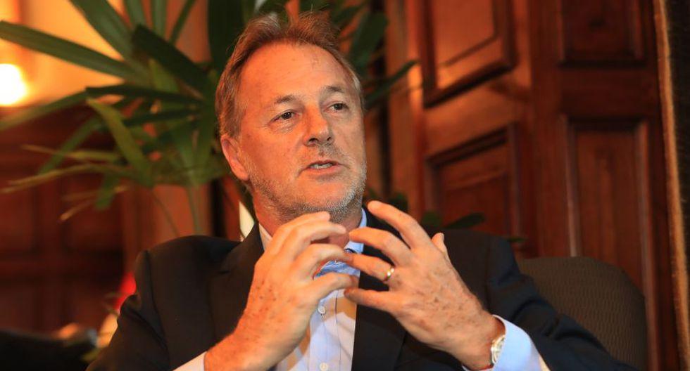 Alcalde de Lima, Jorge Muñoz, aumentó cinco puntos porcentuales en su aprobación de abril. (Foto: GEC)