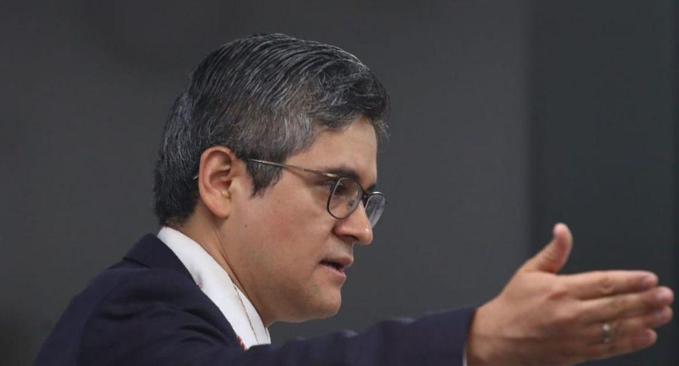 El fiscal José Domingo Pérez reiteró que Keiko Fujimori buscó influencias en el Ministerio Público y el Poder Judicial a través de implicados con Los Cuellos Blancos del Puerto. (Foto: Alessandro Currarino / GEC)