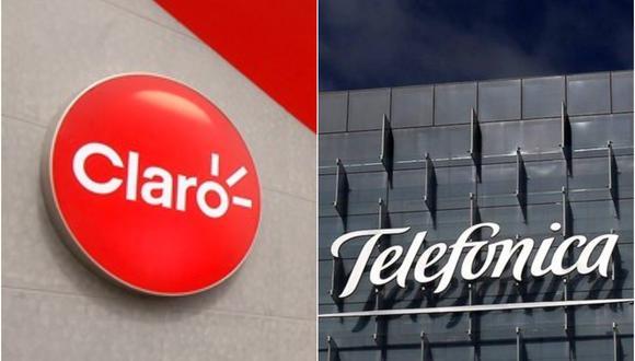 Misma participación de Claro y Telefónica en el mercado móvil peruano está asociado al ingreso de nuevos operadores, señaló Osiptel. (Foto: Collage/Gestión.pe)