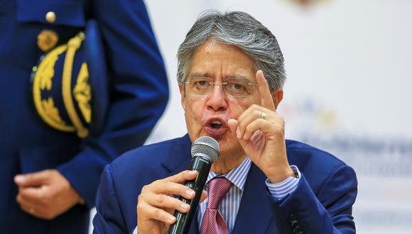 El presidente de Ecuador, Guillermo Lasso. (Foto: EFE).