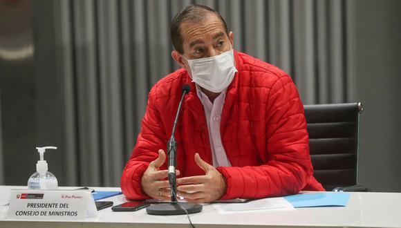 Martos indicó que se debe tener en cuenta el contexto de designación de los ministros. (Foto: PCM)