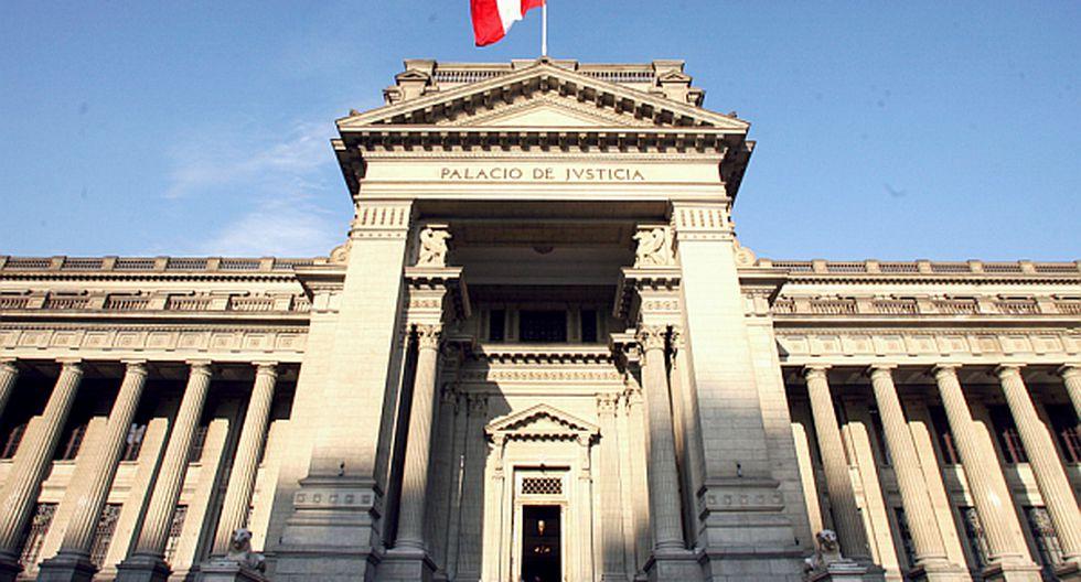 Palacio de Justicia. (Foto: USI)