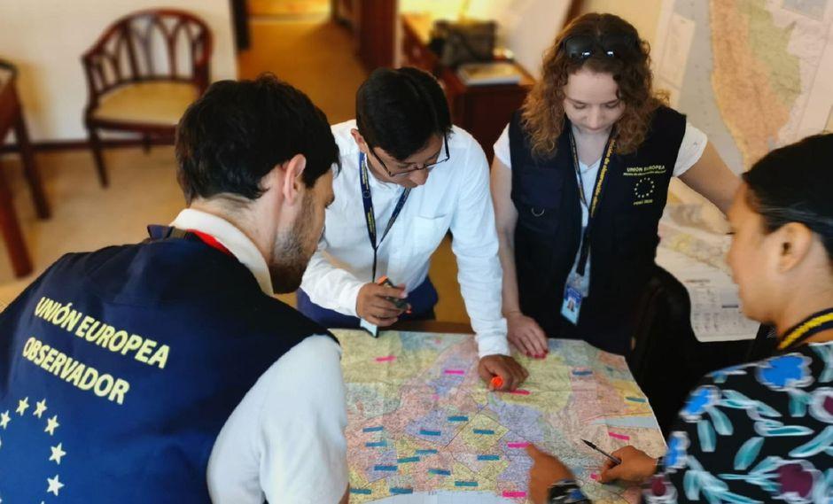 Misión de Observación Electoral de la Unión Europea (MOE UE). (Foto: Difusión)