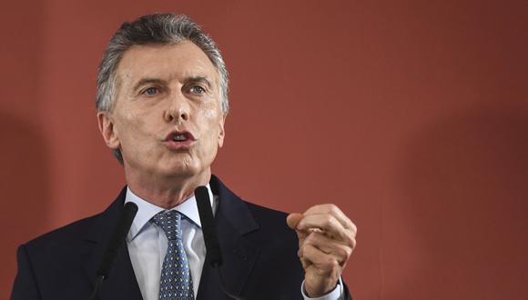 Fernández despejó este sábado las incógnitas sobre su futuro político al anunciar su candidatura a la vicepresidencia. Macri se mostró en contra. (Foto: AFP)