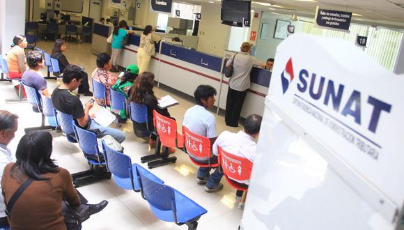 La Sunat informó que las devoluciones de impuestos ascendieron a S/ 1,171 millones en febrero. (Foto: GEC)