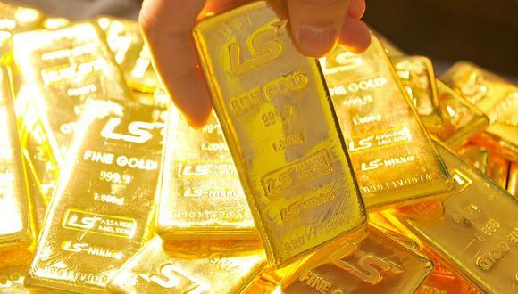 Los futuros del oro en Estados Unidos bajaban un 0.5% a US$ 1,902.30 la onza. (Foto: AFP)