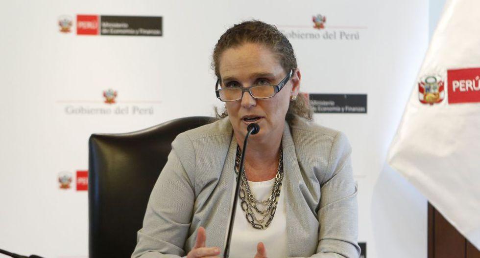 """Claudia Cooper, ministra de Economía y Finanzas expondrá la conferencia """"Asegurando el crecimiento económico en medio de la turbulencia política"""". (Foto: USI)"""