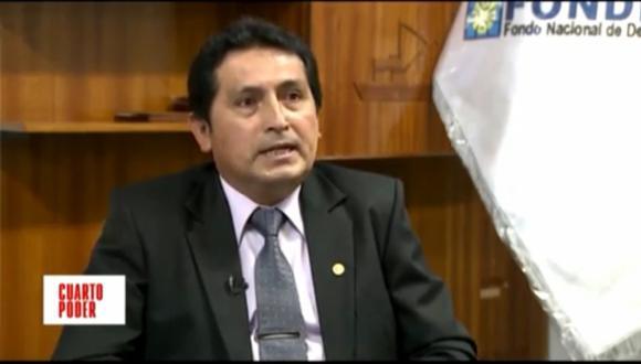 Jorge Augusto Gutiérrez Mendoza postuló en 2018 como vicegobernador de Ayacucho por el Frente Amplio. (Foto: Cuarto Poder / América TV)
