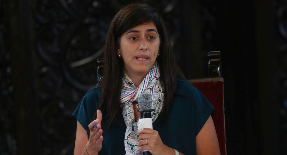María Antonieta Alva, ministra de Economía y Finanzas. (Foto: GEC)