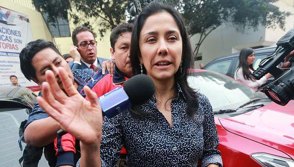 Nadine Heredia es considerada por la fiscalía como presunta integrante de una organización criminal para favorecer a Odebrecht. (Foto: GEC)