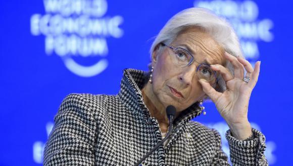 Christine Lagarde presidió el FMI. (Foto: AFP)